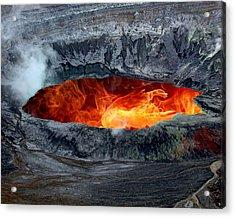 Volcanic Eruption Acrylic Print