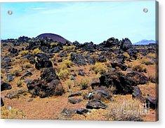 Volcanic Field Acrylic Print