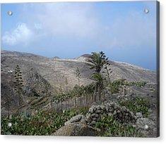 Volcanic Landscape Tenerife - Teno Alto 1 Acrylic Print