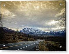 Volcanic Road Acrylic Print