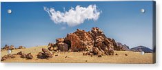 Acrylic Print featuring the photograph Volcanic Rocks by James Billings
