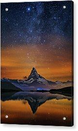 Volcano Fountain Acrylic Print