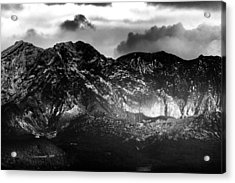 Acrylic Print featuring the photograph Volcano by Hayato Matsumoto