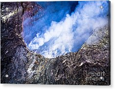 Acrylic Print featuring the photograph Volcano by M G Whittingham