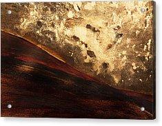 Volcano Sunrise Acrylic Print by Tara Thelen - Printscapes