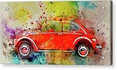 Volkswagen Beetle 3 Acrylic Print