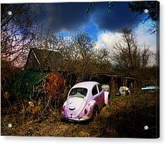 Volkswagen Graveyard Acrylic Print