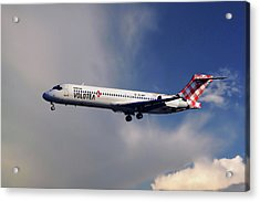 Volotea Boeing 717-23s Acrylic Print