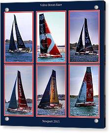 Volvo Ocean Race Newport 2015 Acrylic Print