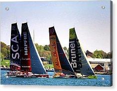 Volvo Ocean Race Newport Ri Acrylic Print