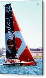 Volvo Ocean Race-team Alvimedica Acrylic Print