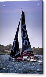 Volvo Ocean Race Team Sca Acrylic Print