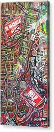 Voo Doo Economy Acrylic Print by Jay Lonewolf