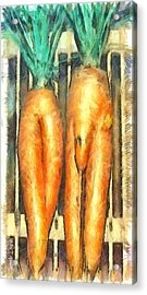 Voodoo Carrots - Da Acrylic Print