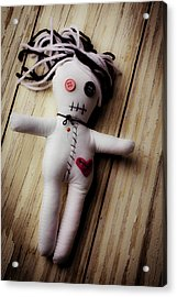 Voodoo Doll Acrylic Print