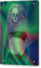 Voodoo Acrylic Print by Norman Reutter