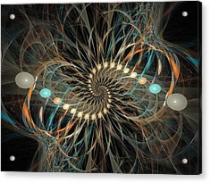 Vortex Acrylic Print by David April