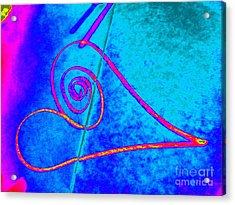 Vortex Heart Acrylic Print