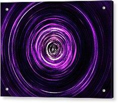 Vortex Into The Unknown Acrylic Print