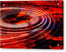 Vortex Acrylic Print by Patricia Motley