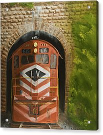Vosburg Tunnel Acrylic Print by Christopher Jenkins