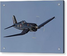 Vought Corsair Acrylic Print by Pat Speirs