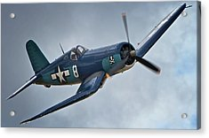 Vought F4u Corsair 2011 Chino Air Show Acrylic Print