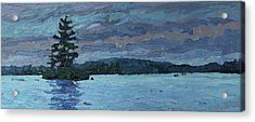 Voyageur Highway Acrylic Print by Phil Chadwick