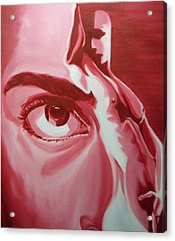 Voyeur And Exhibitionist Acrylic Print by Davinia Hart