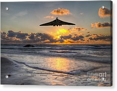 Vulcan Light Acrylic Print by J Biggadike