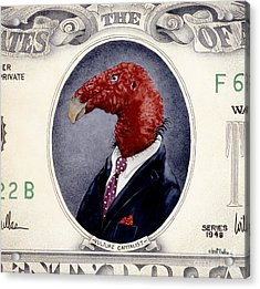 Vulture Capitalist... Acrylic Print