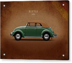 Vw Beetle 1953 Acrylic Print