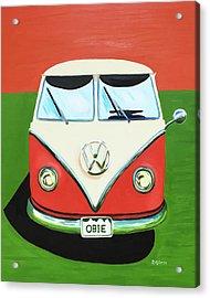 Vw-bus-obie Acrylic Print by Dean Glorso