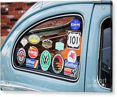 Acrylic Print featuring the photograph Vw Club by Chris Dutton