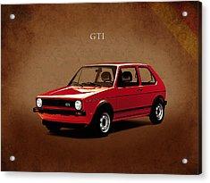 Vw Golf Gti 1976 Acrylic Print