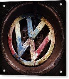 VW Acrylic Print by Joseph Skompski