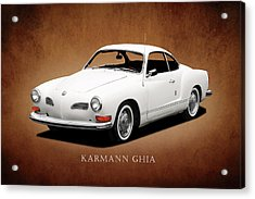 Vw Karmann Ghia Acrylic Print