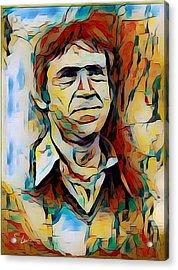 Vysotsky Vladimir Singer-songwriter Acrylic Print