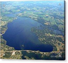 W-032 Wissota Lake Eau Claire County Wisconsin Acrylic Print