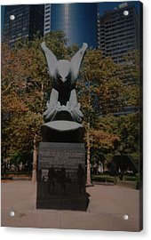 W W II Eagle Acrylic Print by Rob Hans