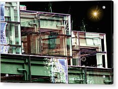 Wa State Convention And Trade Center Acrylic Print by Tim Allen