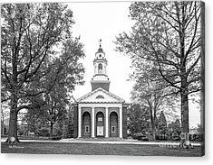 Wabash College Chapel Acrylic Print