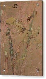 Wabi-sabi Ikebana Original Mashup Acrylic Print