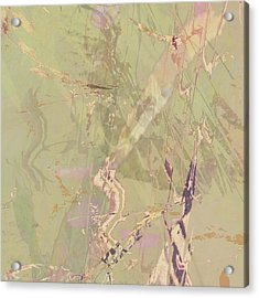 Wabi Sabi Ikebana Revisited Shabby 1 Acrylic Print