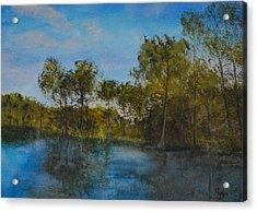 Waccamaw Breeze I Acrylic Print by Phil Burton