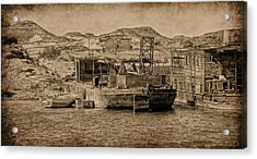 Wadi Es Sebua Acrylic Print
