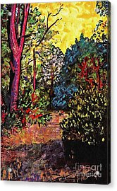 Wadmalaw Island Acrylic Print by Sarah Loft