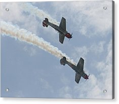 Wafb 09 Yak 52 Aerostar 7 Acrylic Print by David Dunham