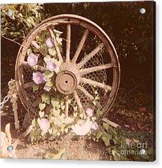 Wagon Wheel Memoir Acrylic Print