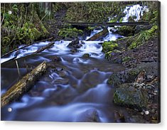Wahkeena Creek Bridge # 5 Acrylic Print
